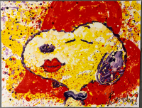 "Tom Everhart Signed ""A Kiss is Just a Kiss"" 13.5x18 PP Lithograph (PA LOA) at PristineAuction.com"