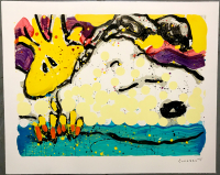 "Tom Everhart Signed ""Bora Bora Boogie Bored"" 28x35 PP Lithograph (PA LOA) at PristineAuction.com"