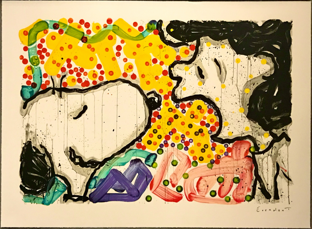 "Tom Everhart Signed ""Drama Queen"" 26x35 PP Lithograph (PA LOA) at PristineAuction.com"
