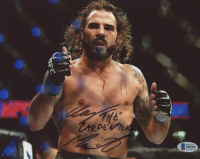 "Clayton ""The Carpenter"" Guida Signed UFC 8x10 Photo (Beckett COA) at PristineAuction.com"