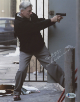 """Mark Harmon Signed """"NCIS"""" 8x10 Photo Inscribed """"From"""" (Beckett COA) at PristineAuction.com"""