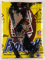 1984 Topps Football Wax Box (BBCE Certified) at PristineAuction.com