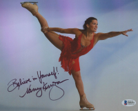 "Nancy Kerrigan Signed 8x10 Photo Inscribed ""Believe In Yourself!"" (Beckett COA) at PristineAuction.com"