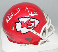 Patrick Mahomes & Tyreek Hill Signed Kansas City Chiefs Mini Speed Helmet (JSA COA) at PristineAuction.com
