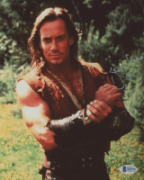"""Kevin Sorbo Signed """"Hercules"""" 8x10 Photo (Beckett COA) at PristineAuction.com"""