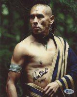 """Wes Studi Signed """"The Last of the Mohicans"""" 8x10 Photo Inscribed """"2019"""" ( Beckett COA) at PristineAuction.com"""