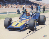 Al Unser Signed 8x10 Photo (Beckett COA) at PristineAuction.com