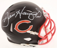 Dan Hampton Signed Bears Matte Black Speed Mini Helmet (Beckett COA) at PristineAuction.com