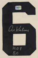 "Al Kaline Signed Tigers Jersey Inscribed ""HOF 80"" (AAA COA) at PristineAuction.com"