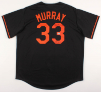 "Eddie Murray Signed Orioles Jersey Inscribed ""HOF 2003"" (AAA COA) at PristineAuction.com"