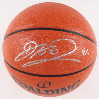 Dirk Nowitzki Signed NBA Game Ball Series Basketball (JSA COA) at PristineAuction.com