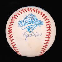 Ryan Klesko Signed 1995 World Series Logo Baseball (JSA COA) at PristineAuction.com
