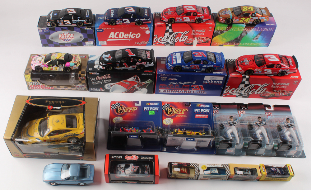 Lot of (20) NASCAR Items at PristineAuction.com