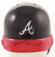 Kyle Wright Signed Braves Mini Batting Helmet (JSA COA) at PristineAuction.com