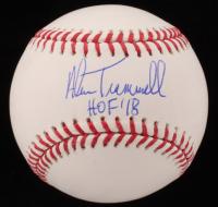 "Alan Trammell Signed OML Baseball Inscribed ""HOF '18"" (JSA COA) at PristineAuction.com"