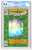 "1992 ""Spider-Man"" #26 30th Anniversary Marvel Comic Book (CGC 9.6) at PristineAuction.com"