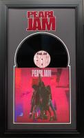 """Eddie Vedder Signed """"Ten"""" 19.5x31.5 Custom Framed Vinyl Record Display (JSA Hologram) at PristineAuction.com"""