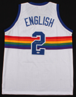 Alex English Signed Jersey (PSA COA) at PristineAuction.com