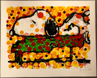 "Tom Everhart Signed ""Play That Funky Music"" 27x34 PP Lithograph (PA LOA) at PristineAuction.com"