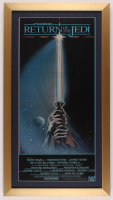 """Star Wars: Return of the Jedi"" 16x29 Custom Framed Movie Poster Print at PristineAuction.com"