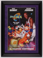 """Space Jam"" 15.5x21.5 Custom Framed Movie Poster Print Display at PristineAuction.com"