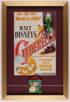 """Cinderella"" 16.5x24.5 Custom Framed Print Display with Vintage 8mm Film Reel at PristineAuction.com"