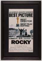 """Rocky"" 17.5x25.5 Custom Framed Movie Poster Print Display at PristineAuction.com"