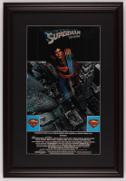 """Superman"" 17.5x25.5 Custom Framed Movie Poster Print Display at PristineAuction.com"