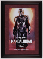 """Star Wars: The Mandalorian"" 16x22.5 Custom Framed Movie Poster Print Display at PristineAuction.com"