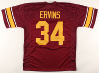 Ricky Ervins Signed Jersey (Beckett COA) at PristineAuction.com