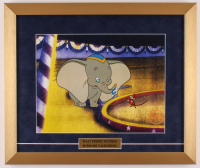 "Walt Disney's ""Dumbo"" 16x19 Custom Framed Hand-Painted Animation Serigraph Display at PristineAuction.com"