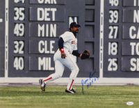 "Jim Rice Signed Red Sox 16x20 Photo Inscribed ""H.O.F. 09"" (JSA COA) at PristineAuction.com"