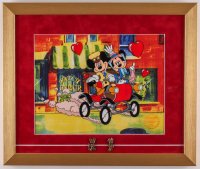 "Walt Disney's Goofy LE ""Nifty Nineties"" 16x19 Custom Framed Animation Serigraph Display with (2) Pins at PristineAuction.com"