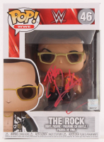 The Rock Signed WWE #46 Funko Pop! Vinyl Figure (PSA Hologram) at PristineAuction.com