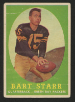 Bart Starr 1958 Topps #66 at PristineAuction.com