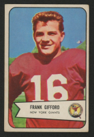 Frank Gifford 1954 Bowman #55 at PristineAuction.com