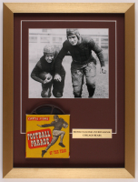 """Football Parade: Red Grande & Bronko Nagurski"" 15.5x20.5 Custom Framed Vintage 1940's 8mm Football Film Reel Display at PristineAuction.com"