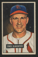 Enos Slaughter 1951 Bowman #58 at PristineAuction.com