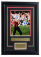 Tiger Woods 14.5x20.5 Custom Framed Photo Display at PristineAuction.com