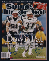 Mike Vrabel & Rodney Harrison Signed Patriots 16x20 Sports Illustrated Photo (YSMS Hologram) at PristineAuction.com