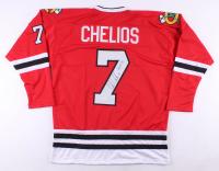 "Chris Chelios Signed Jersey Inscribed ""HOF 13"" (JSA Hologram) at PristineAuction.com"