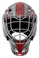 "Dominik Hasek Signed Red Wings Full-Size Goalie Mask Inscribed ""HOF 14"" (JSA COA) at PristineAuction.com"