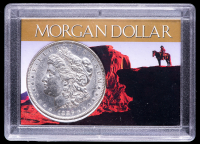 1886 Morgan Silver Dollar with Western Holder at PristineAuction.com