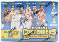 2018/19 Panini Contenders Basketball Blaster Box of (5) Packs at PristineAuction.com