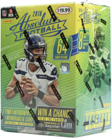 2018 Panini Absolute Football Blaster Box of (8) Packs at PristineAuction.com