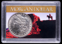 1896 Morgan Silver Dollar with Western Holder at PristineAuction.com