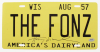 "Henry Winkler Signed ""Happy Days"" License Plate (Schwartz COA) at PristineAuction.com"