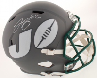 Le'Veon Bell Signed Jets Full-Size AMP Alternate Speed Helmet (JSA COA) at PristineAuction.com