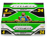 2018-19 Panini Prizm Basketball Retail Box of (24) Packs with (4) Cards Each at PristineAuction.com
