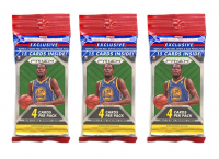 Lot of (3) 2018-19 Panini Prizm Basketball Cello Packs with (15) Cards Each at PristineAuction.com